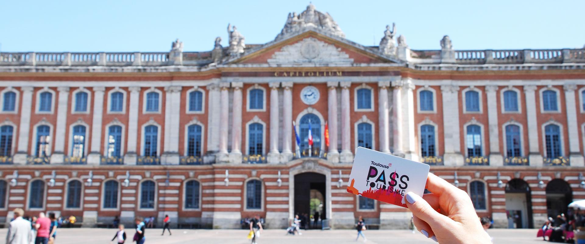 Pass tourisme place du Capitole