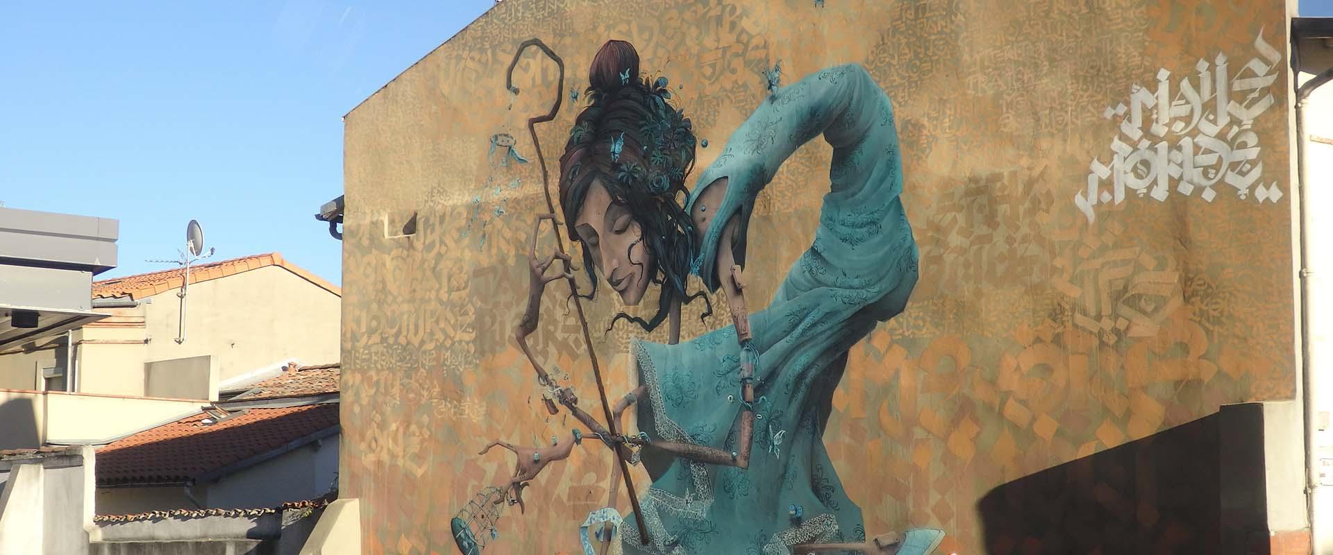 Visiter Toulouse, ville de street art