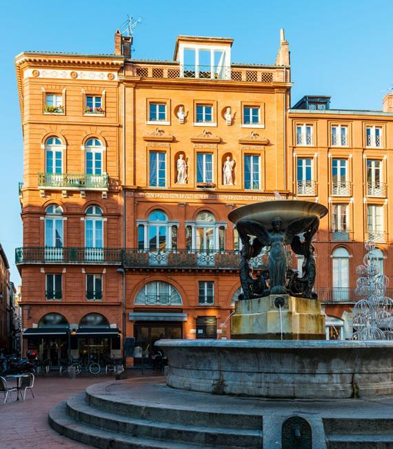 Place de la Trinité à Toulouse