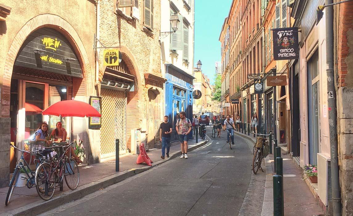 Quartier de Toulouse : Bourse-Daurade