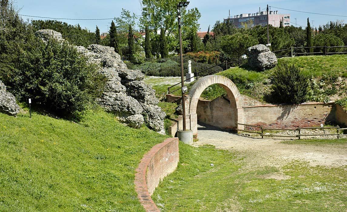 Sites et monuments Toulouse, l'amphithéâtre romain de Purpan