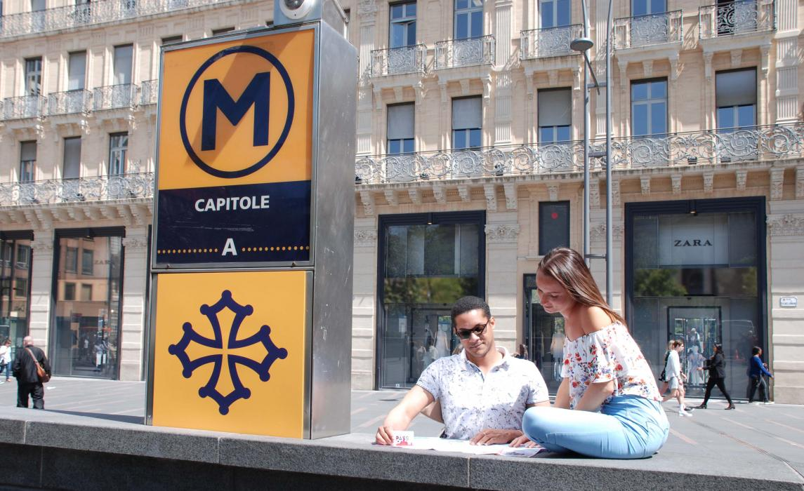 Se déplacer en métro à Toulouse