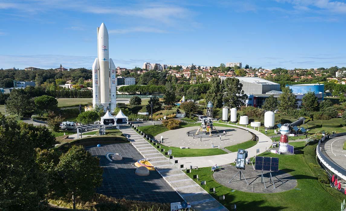 Visitez Toulouse : la Cité de l'espace