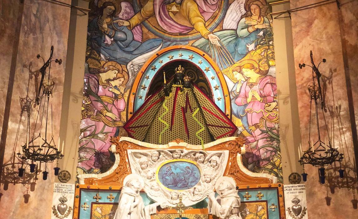 Visiter Toulouse, la basilique Notre-Dame de la Daurade