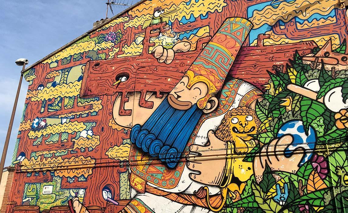 Visiter Toulouse, graff de Poes et Jober
