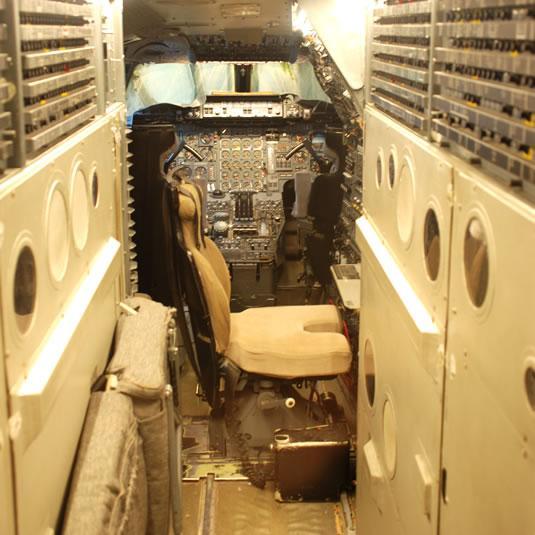 Cockpit du Concorde