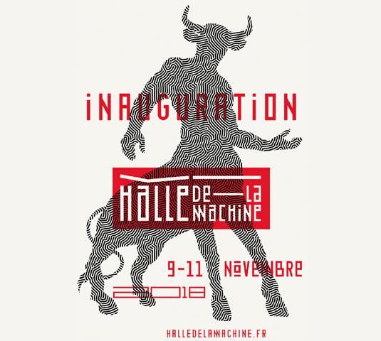 Inauguration de la Halle de la Machine