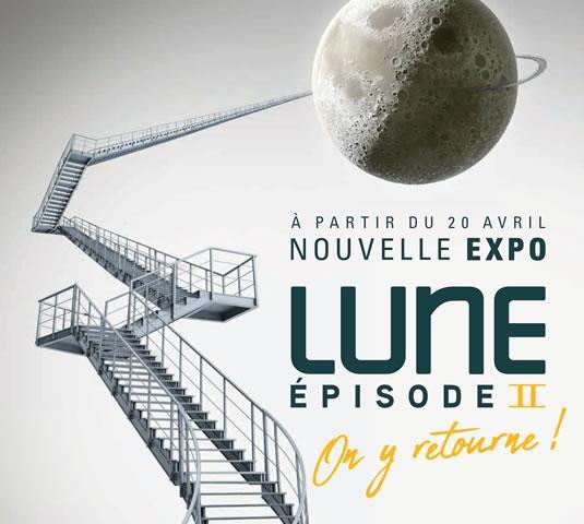 Exposition Lune II à la Cité de l'espace