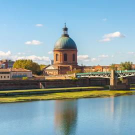 Bords de Garonne à Toulouse