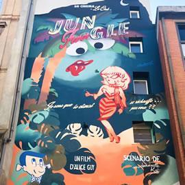 Graff de Mademoiselle Kat à Toulouse