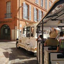Visiter Toulouse en petit train touristique