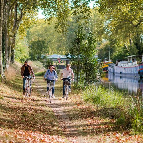 Le canal du Midi à vélà à Toulouse