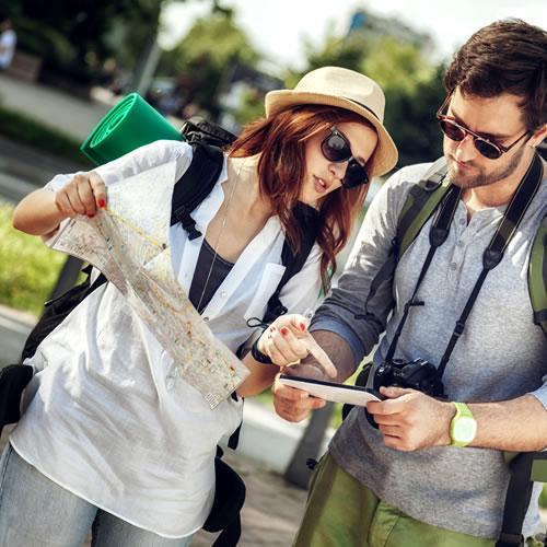 Brochures de l'Office de tourisme de Toulouse