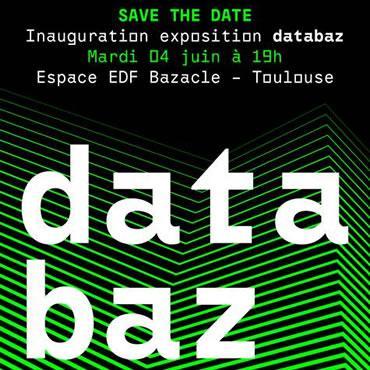Exposition Databaz à l'espace EDF-Bazacle