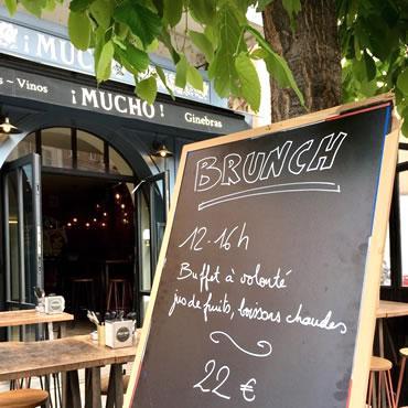 Le brunch au Mucho