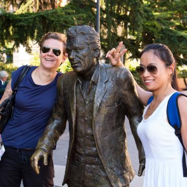 Statue de Claude Nougaro
